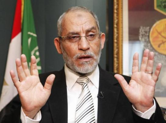 Un tribunal egipcio condena a cadena perpetua al líder de los Hermanos Musulmanes