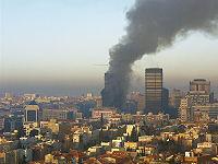 10 años del incendio de la Torre Windsor en Madrid