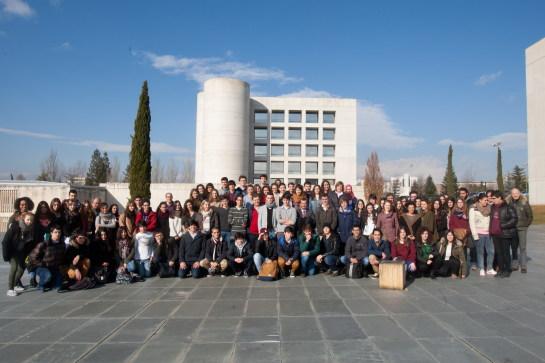 85 alumnos de 12 centros navarros, en la IV Olimpiada de Filosofía de Navarra