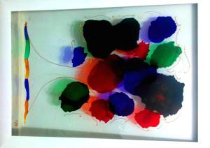 Pintura Cristal, Raquel Leoz