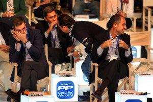 Ricardo Costa, Vicente Rambla, Álvaro Péres y Francisco Camps. DR