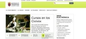 La Web del Ayuntamiento de Pamplona la tercera más transparente de las capitales españolas