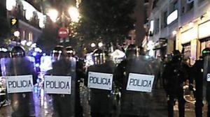 Al menos 17 detenidos en disturbios tras las Marchas de la Dignidad en Madrid