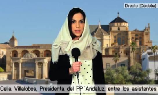 Vox viaja a la Andalucía de 2018 para alertar de la expropiación de la Mezquita y la Giralda