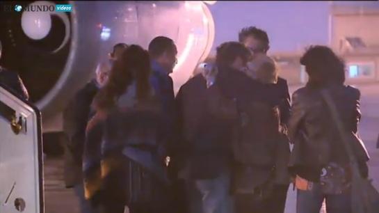Llega a España el avión que repatría a las dos víctimas  de Túnez