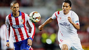Atlético y Sevilla, tablas en el Pizjuán que les alejan de sus objetivos