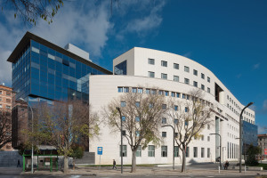 Audiencia Provincial de Navarra-Vista del palacio de justicia