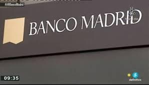 El Banco Madrid no será rescatado públicamente y será liquidado