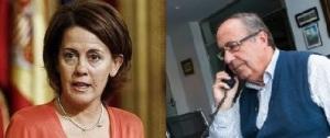 Barcina, presidenta de Navarra y Vizcay, exgerente de Osasuna