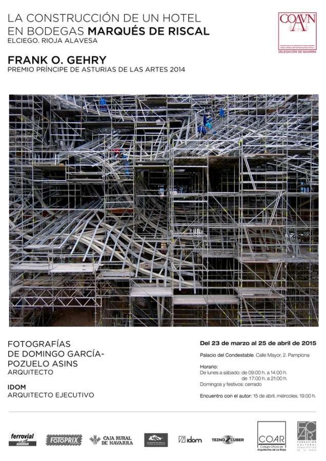 El Colegio Oficial de Arquitectos en Navarra expone fotografías arquitectónicas en el Condestable