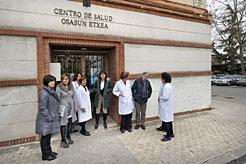 La ampliación del centro de salud de Echavacoiz estará lista para mayo