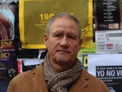 Dámaso Crespo candidato al ayuntamiento de Pamplona de UPyD