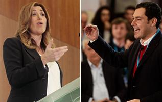 """Díaz arremete contra Moreno por decir que la Junta de Andalucía """"maltrata"""" a las mujeres"""