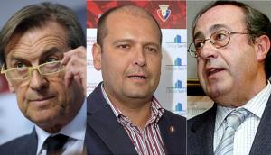 Detenidos el expresidente de Osasuna y dos exdirectivos