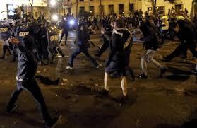 """Tres arrestados tras las """"Marchas por Dignidad"""" son menores y otros tres tienen antecedentes"""