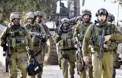 El Ejército israelí realiza un simulacro de alerta en la frontera de Gaza