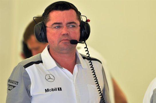 """Eric Boullier: """"McLaren no será competitivo durante meses"""""""