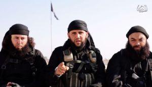 Fotograma del vídeo en el que un grupo de yihadistas amenaza con boicotear las elecciones en Túnez.