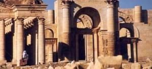 Imagen de las ruinas de Hatra, en Irak.