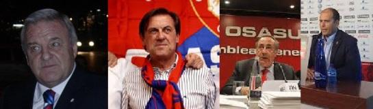 Detenidos Archanco, Vizcay y Peralta por presuntas irregularidades en Osasuna