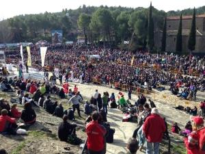La primera Javierada sin incidencias y con alrededor de 9.600 asistentes