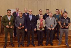 La Agencia Navarra de Emergencias homenajea a sus trabajadores jubilados el pasado año