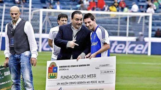 La DEA investiga si se blanqueó dinero de la droga en los amistosos de Messi