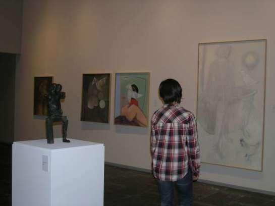 Se inaugura en el Museo de Navarra la exposición antológica del artista Rafael Bartolozzi