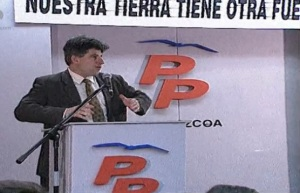 Gregorio Ordoñez, concejal al que sesino Lasarte.