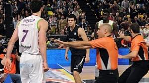 Pelea Bilbao basket