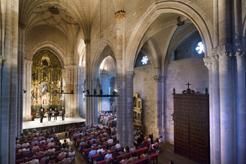 La Coral de Cámara actúa esta tarde en Estella con motivo de la celebración del Día Europeo de la Música Antigua