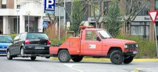 Mañana lunes comienza a funcionar el servicio de grúas en el Parking de hospitales