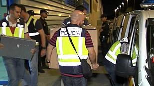 """Libertad con cargos para cinco de los doce detenidos en la nueva fase de """"Operación Edu"""""""