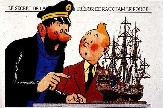 Tintín a subasta en París: uno de sus dibujos ya recaudó 2,6 millones