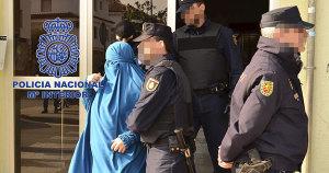 Yihaidistas detenidos en España. Mº Interior