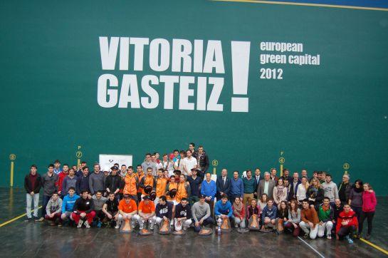 La UPNA, tercera en el Torneo Internacional Universitario de Pelota Vasca