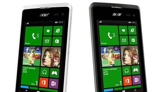Acer presenta su primer teléfono con Windows 8.1 durante el Mobile World Congress