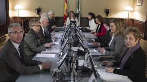 El conserjo de Gobierno de la Junta de Andalucía.