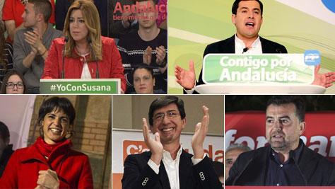 Día de reflexión en familia para los candidatos a la Junta de Andalucía
