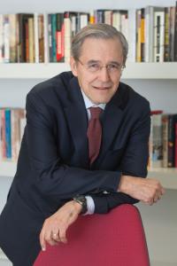 Ernest Sosa impartió una conferencia en el ICS de la Universidad de Navarra