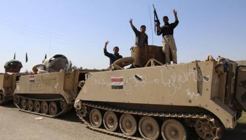 Ofensiva del ejército iraquí para liberar Tikrit de manos de EI
