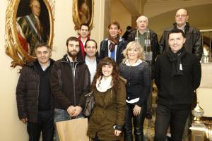 Entregados los premios a los autores de las fotografías para el calendario de Pamplona 2015