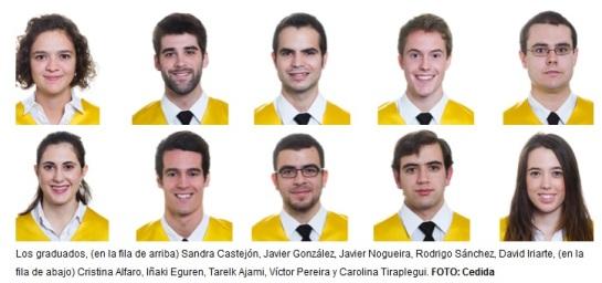 11 graduados de la Facultad de Medicina de la Universidad de Navarra, entre los 100 primeros del MIR