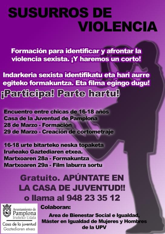 La Casa de la Juventud organiza un encuentro dirigido a chicas para  identificar las agresiones sexistas