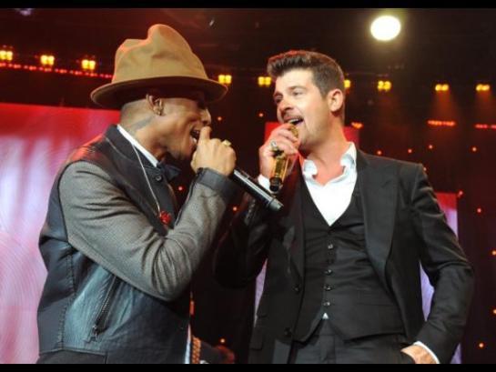 Condenan a Pharrell Williams y Robin Thicke por copiar una canción de Marvin Gaye