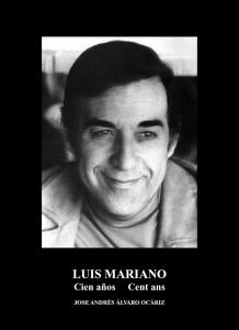 AGENDA: 3 de marzo, Asociación de jubilados y pensionistas de Tudela, Centenerio del cantante Luis Mariano
