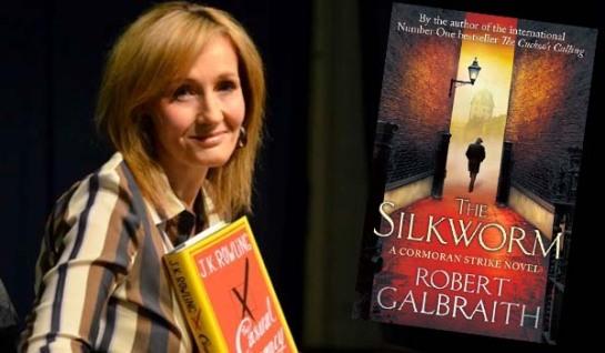 """J.K. Rowling vuelve con su segunda novela, """"El gusano de seda"""""""