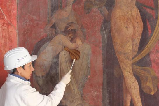 Pompeya recupera la famosa Villa de los Misterios