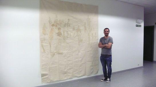 El Campus de la UPNA en Tudela acoge hasta el próximo 17 de junio una exposición del estellés Javier Arbizu