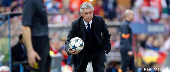 """Ancelotti:  """"El equipo está vivo, tiene buena actitud y lo mostramos en el campo"""""""
